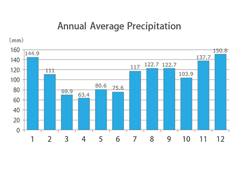 Average temperature