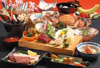 可同時享受豪華A5級十和田湖和牛&毛蟹美味的奢侈專案