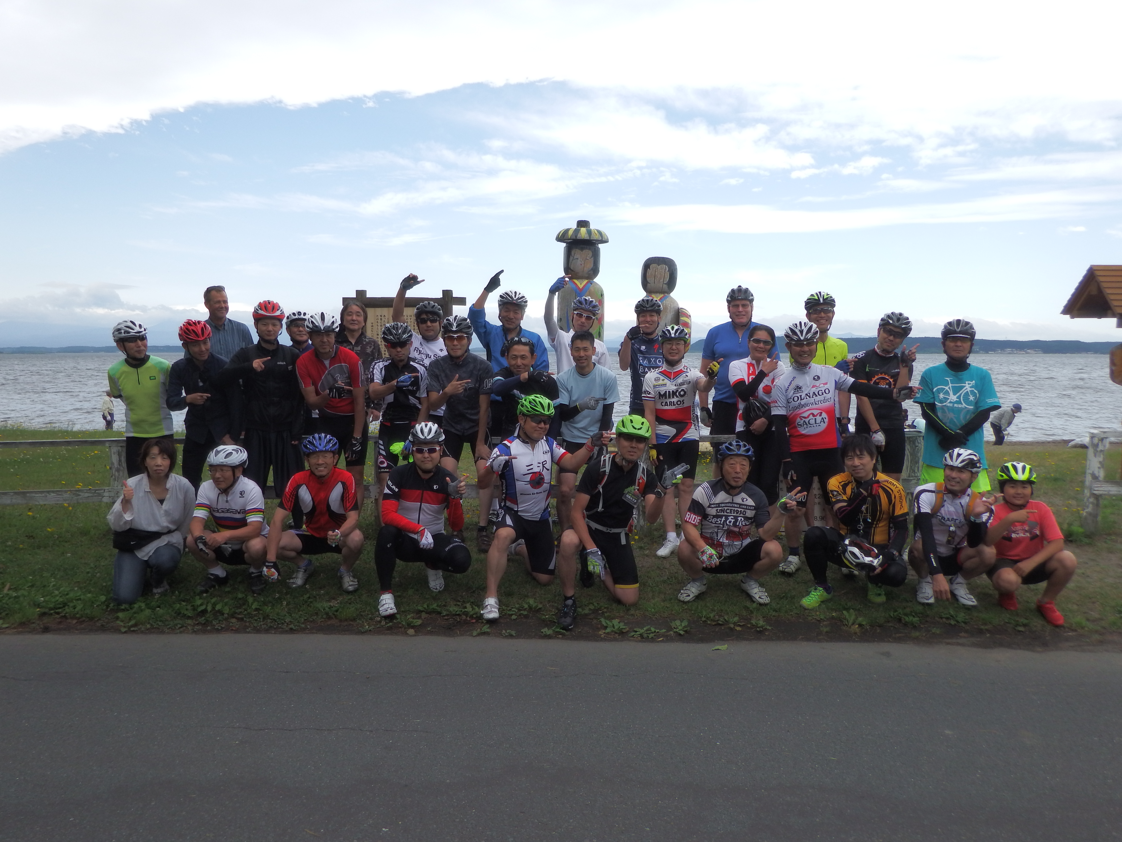 日本国青森県小川原湖一周サイクリング「2017 夏の陣」